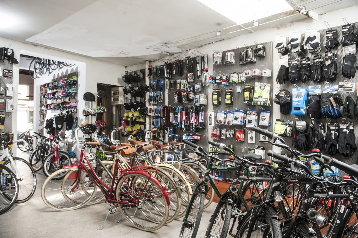 Accessoires in de winkel